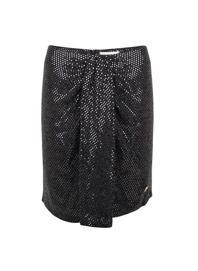 Skirt Shine Black