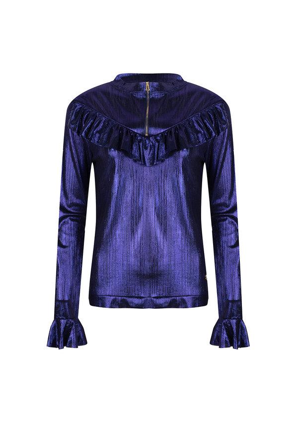 Top Franca - Shiny Blue