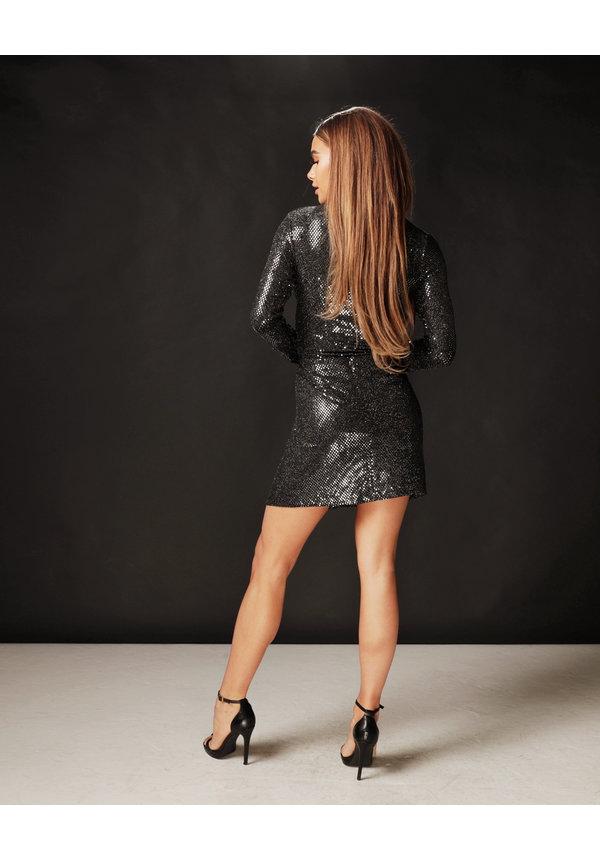 Skirt Shine - Black
