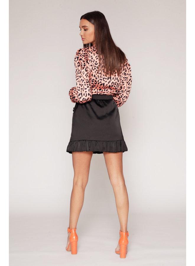 Top Yara Orange Leopard