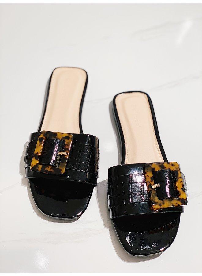 Feel better slippers - Black #B-165