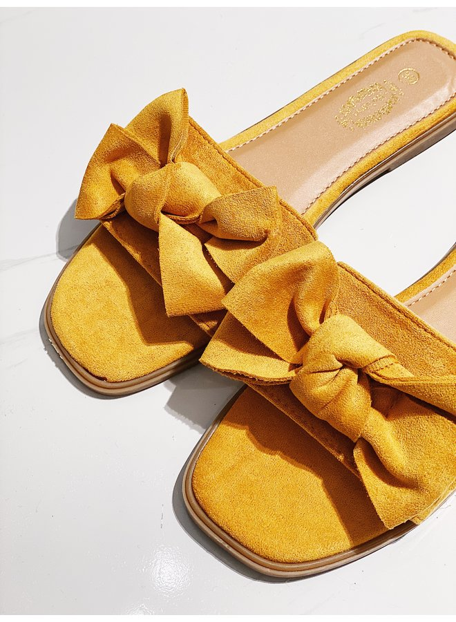 Sweet moments sandals - Yellow #VL12