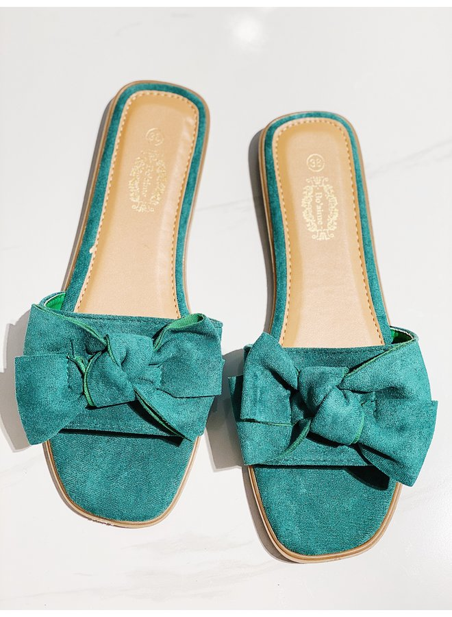 Sweet moments sandals - Green #VL12