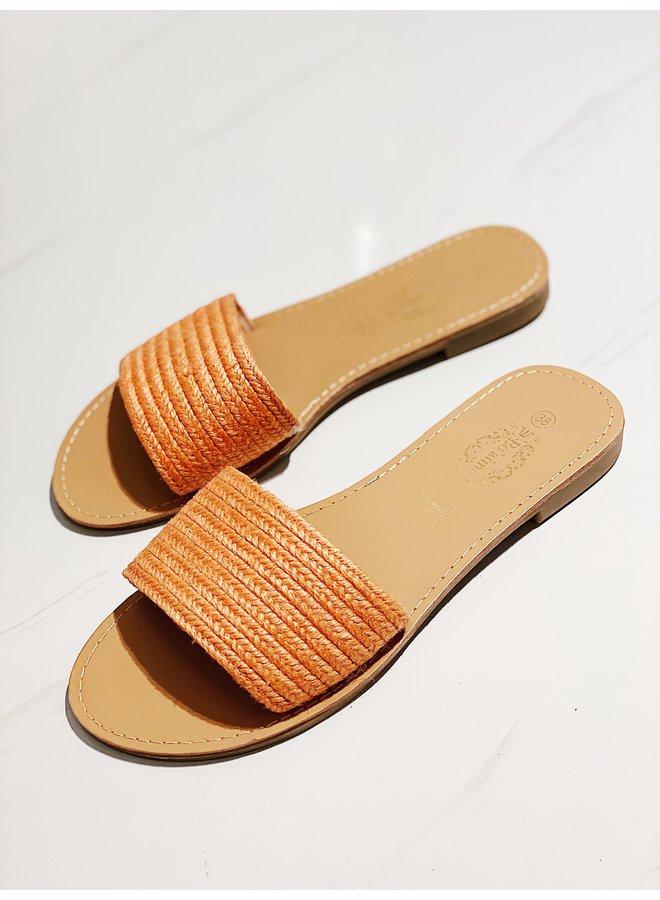 You ready for it sandal - Orange #HL2-2