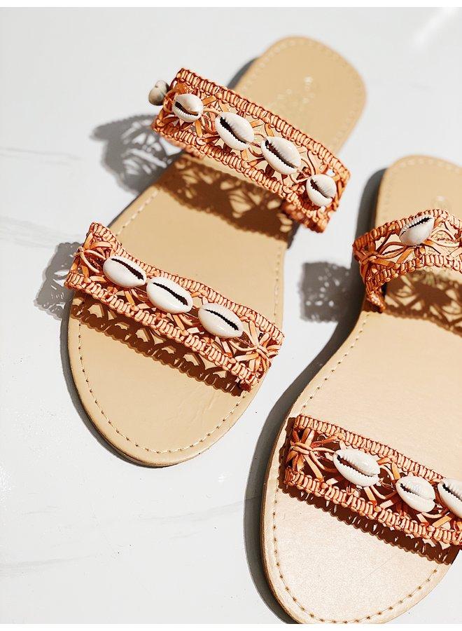 Sweet intentions sandals - Orange #HL2-3