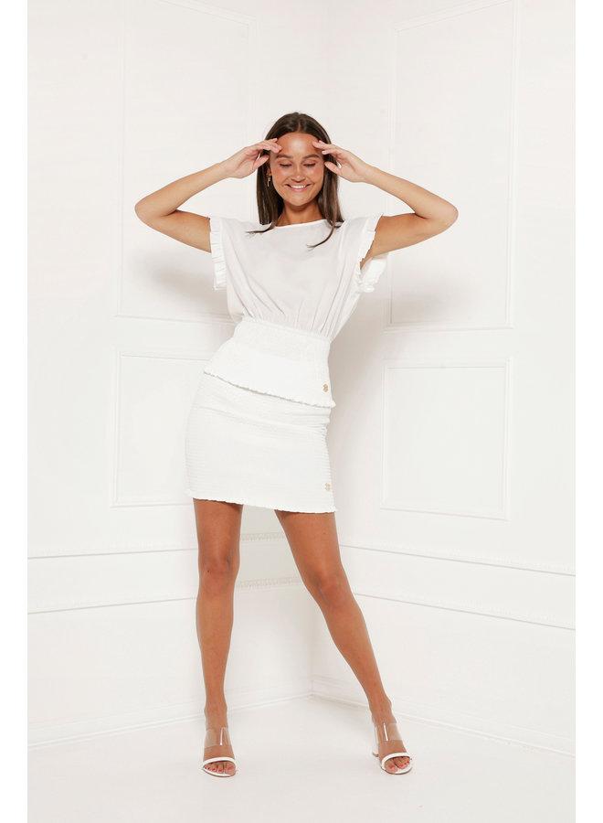 Skirt Mexy White