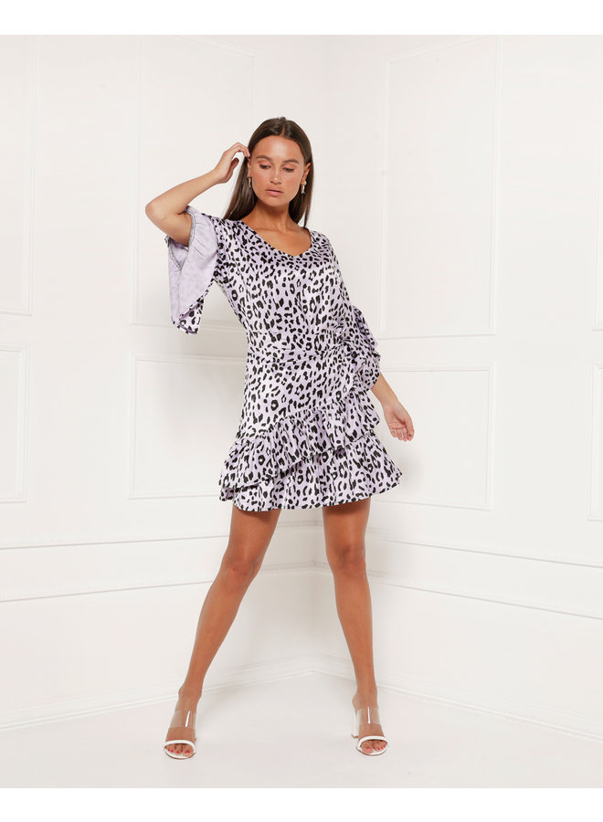 Dress Gracie Purple leo