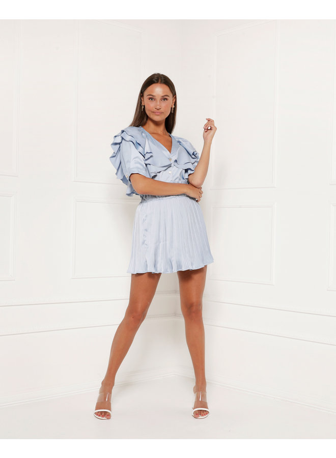 Top Evelyn Blue
