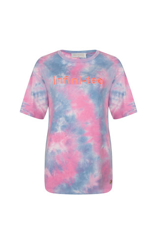 Delousion Top Infiniti-tee Pink Blue