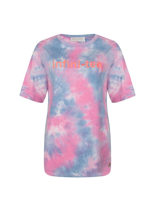 Top Infiniti-tee Pink Blue