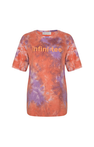 Delousion Top Infiniti-tee Purple Orange