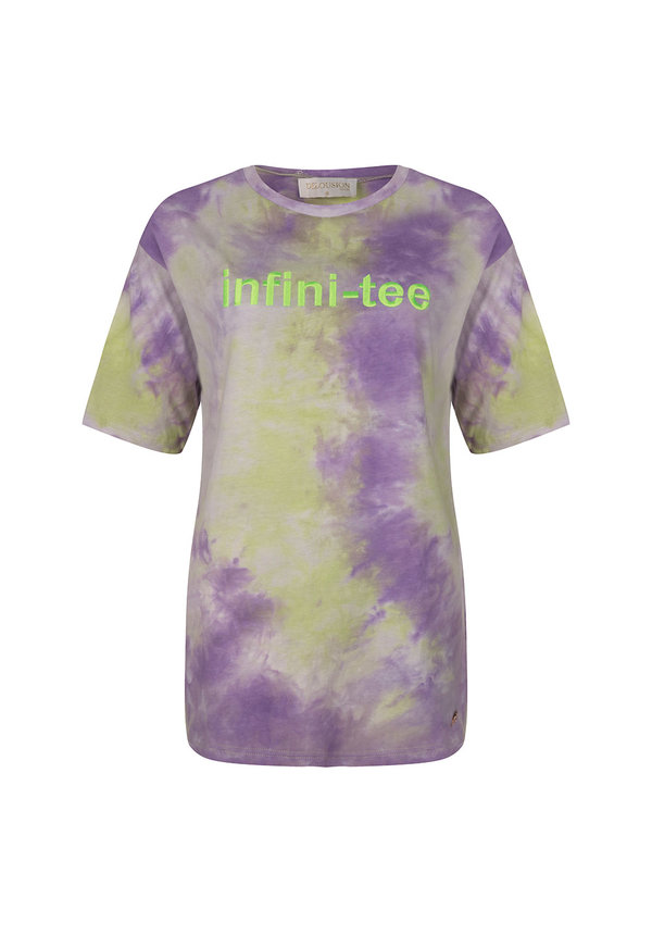 Top Infiniti-tee Purple Green