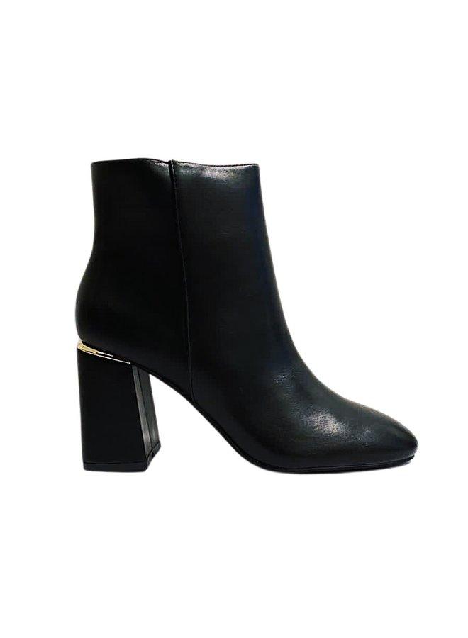 What attitude heeled boots - Black #JXS557-1