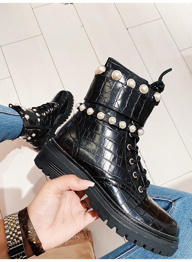 Rockstar boots - Black #1CE-0414