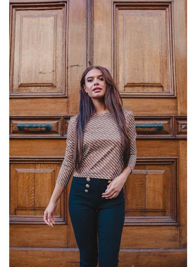Top Kyra Brown #0923