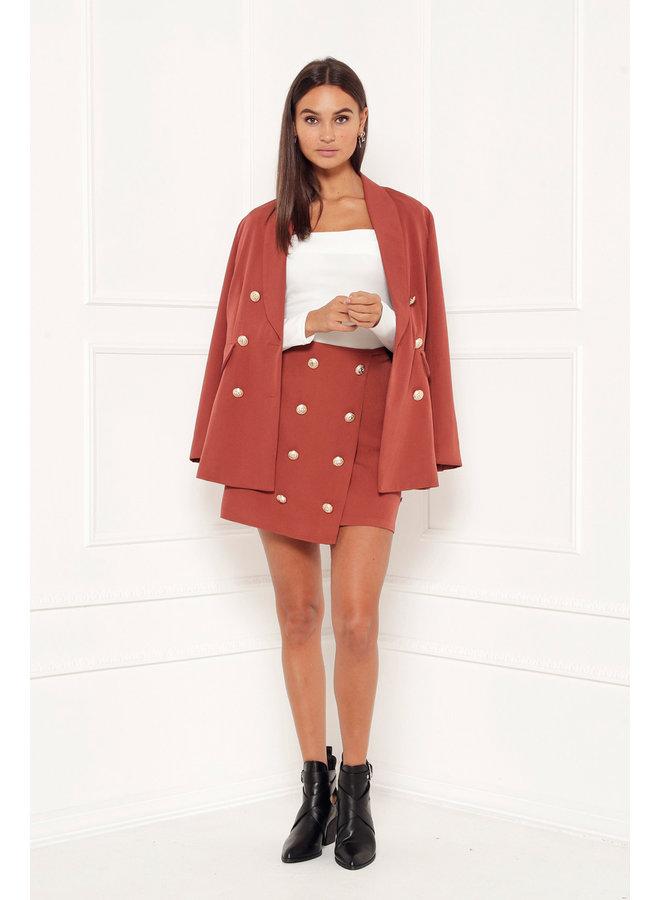 Skirt Isea Brown