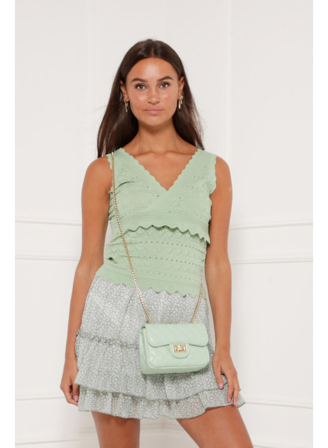 Stereo love top - green #1315