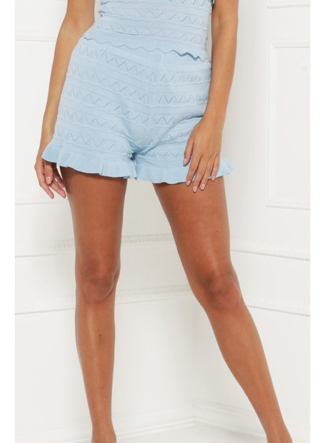 Cool and comfy shorts - blue #1361-1
