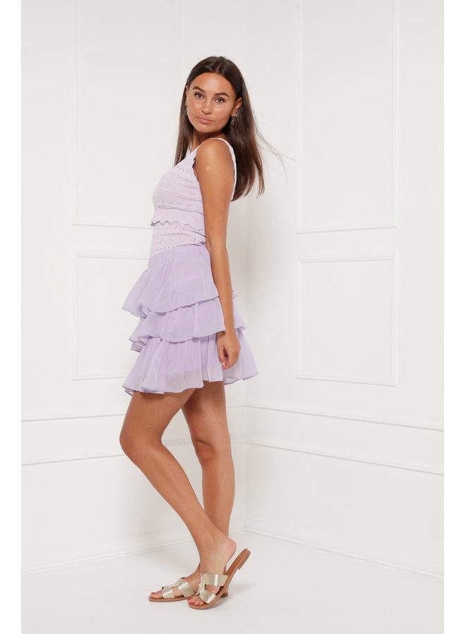 I like it ruffle skirt - purple #1320