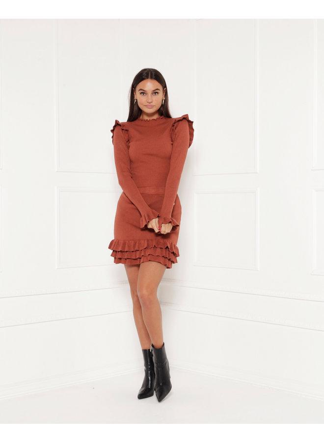 Skirt Gio Brown