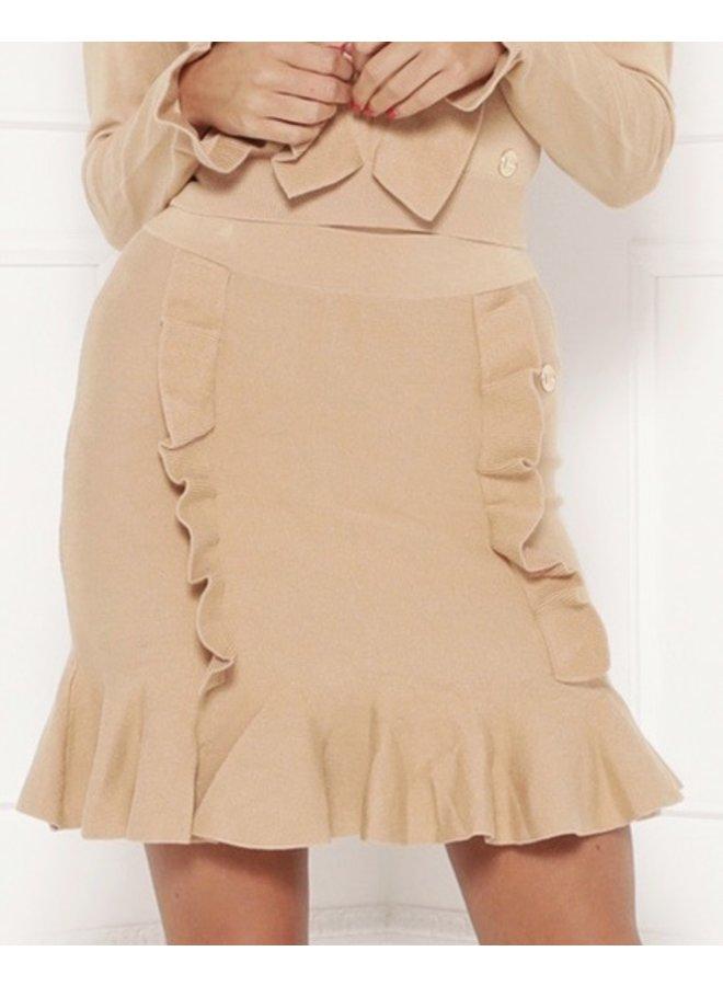 Skirt Iva Camel