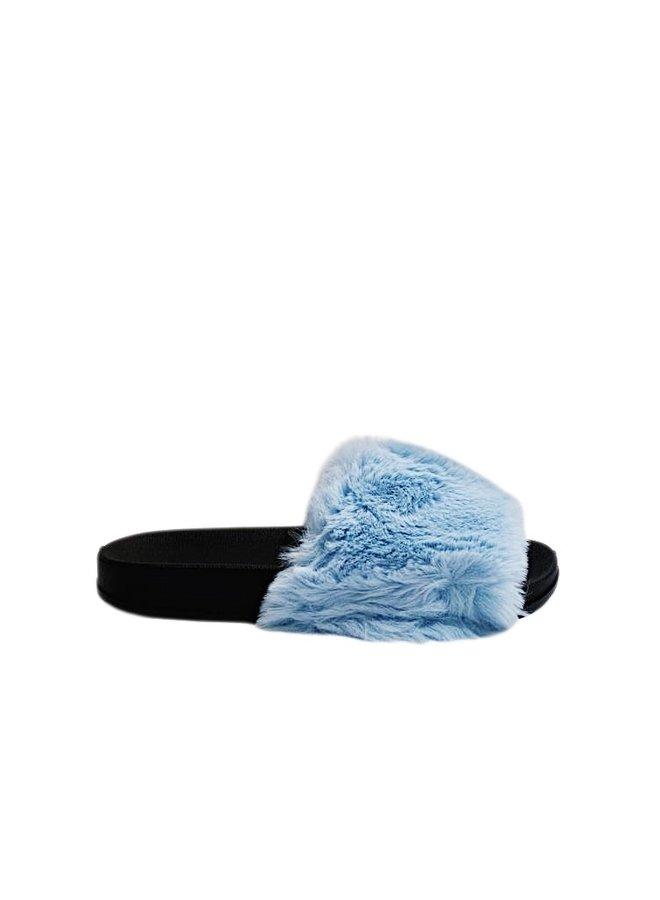 All fur you slides - blue #CD201
