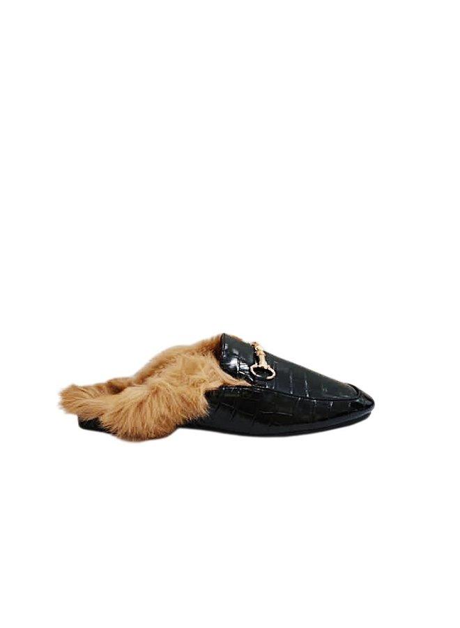 Don't furget me sandal - black #NP-28