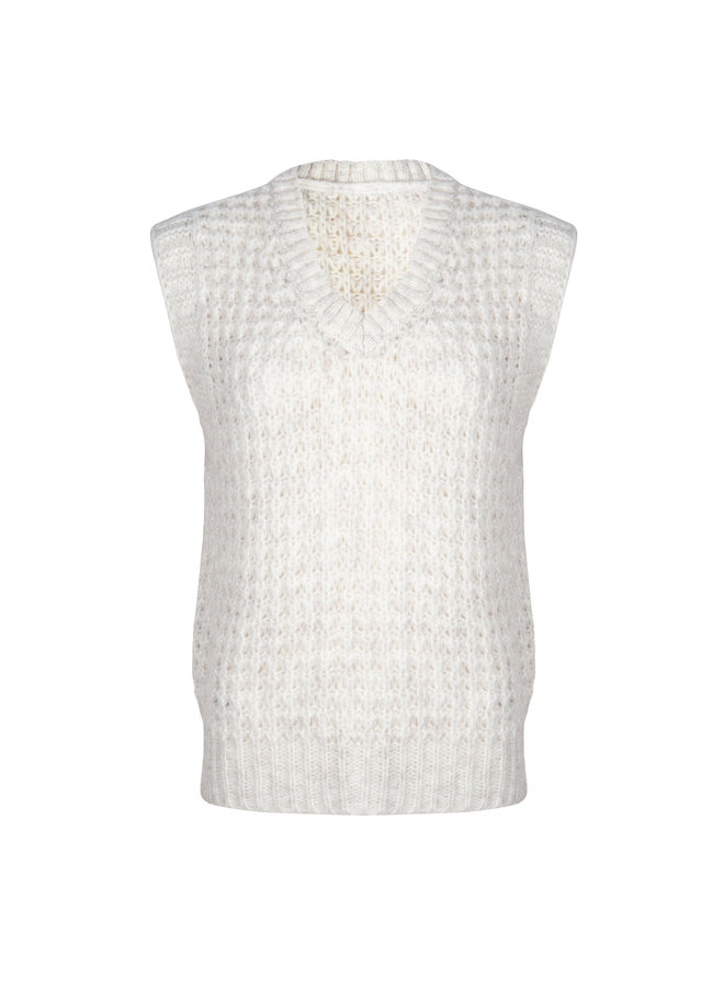 Lovely sweater - offwhite #1476