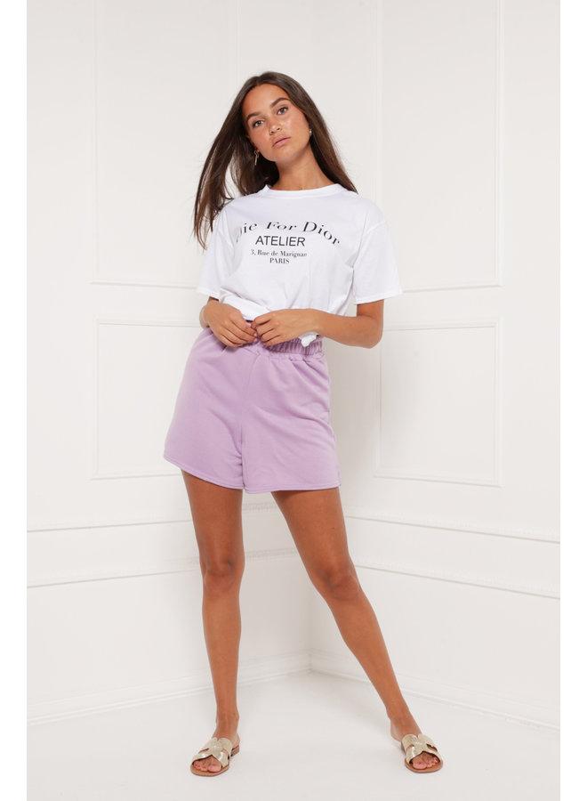 You gotta chill shorts - purple #1329