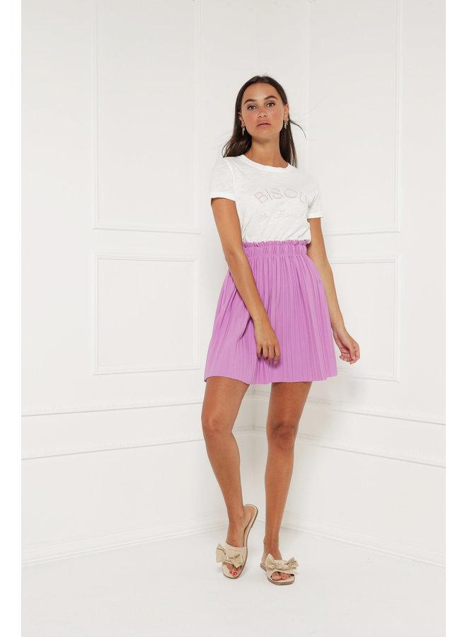 Catch your love skirt - purple #1389