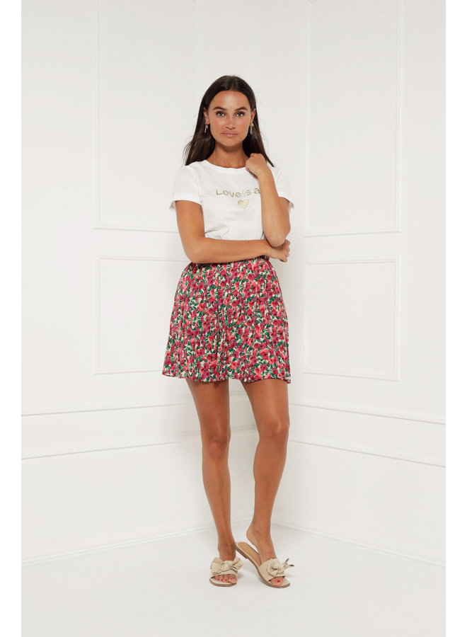 Flowerbomb skirt - multicolor #1390