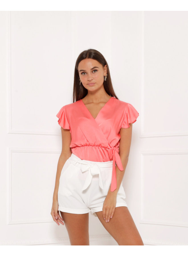 Vision of love top - pink #1400