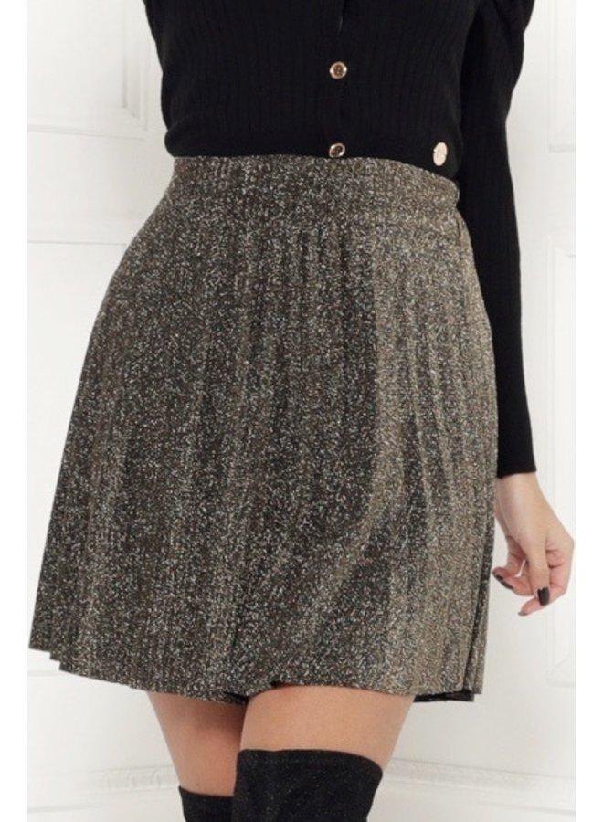 Glitz and glam skirt - gold #1491