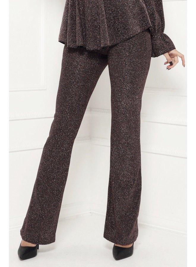 Matter of time trouser - roségold #1498