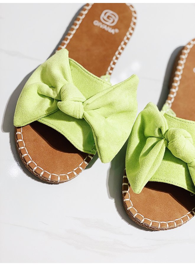Too cute to care sandals - Green #2032