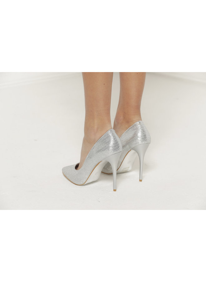 Party Heels - Silver #A1-0362H