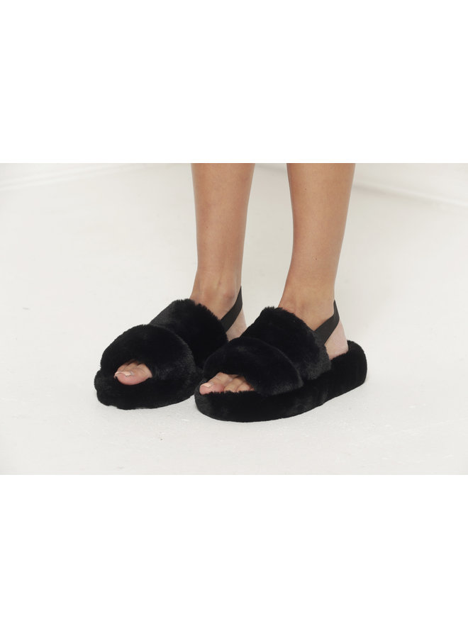 Daydreamer Slides - Black #M12