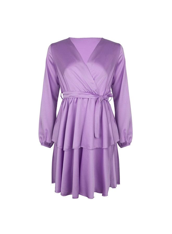 Monaco dress - purple #1523