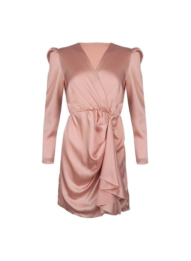 Gianni dress - peach #1522