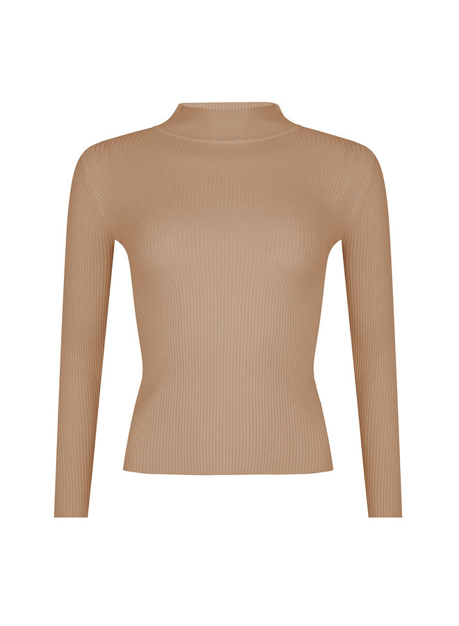 Lilly top - camel #1513