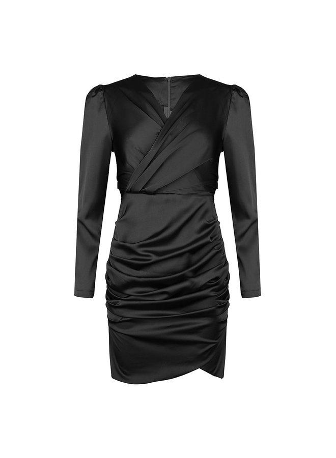 Cheers bodycon dress - black #1507