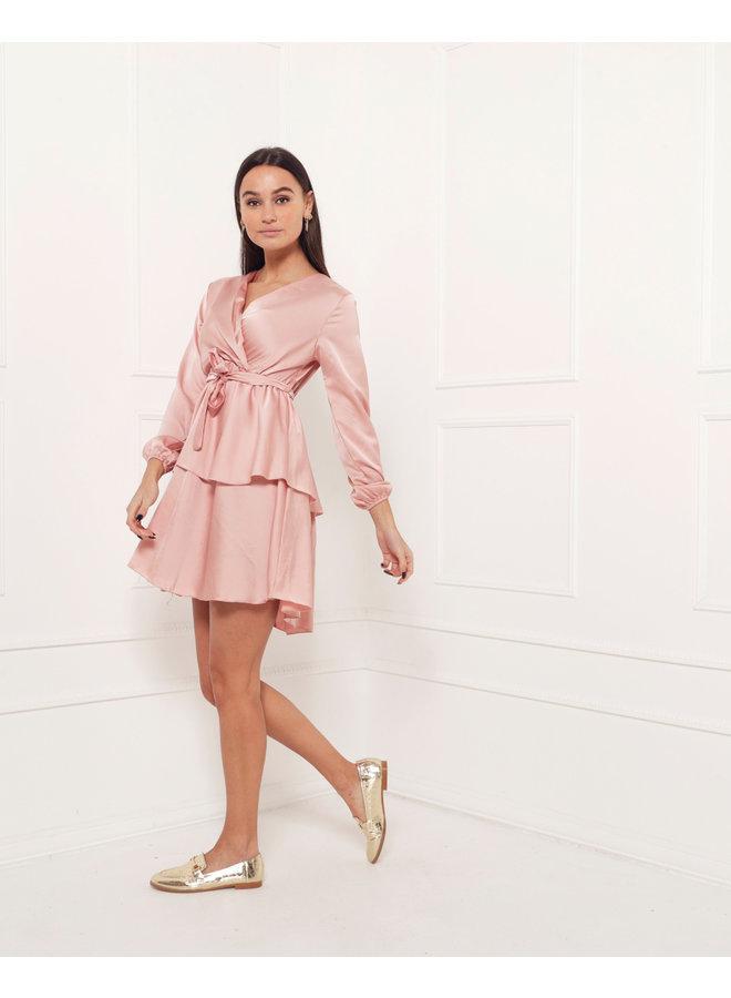 Monaco dress - peach #1523