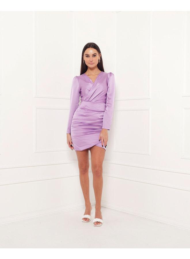 Cheers bodycon dress - purple #1507