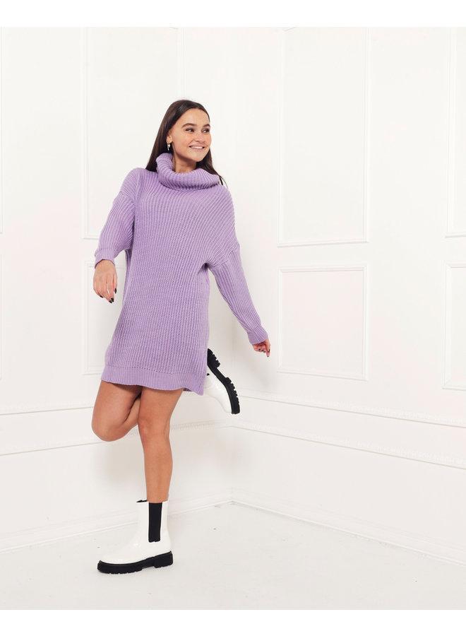 Kim oversized sweater - purple #1504