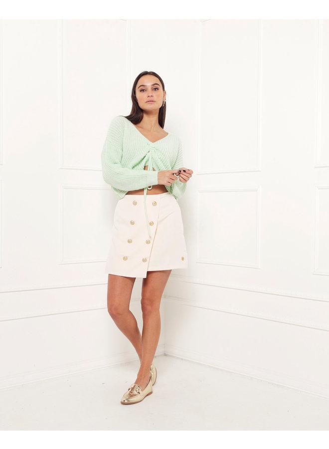 Hailey sweater - green #1518