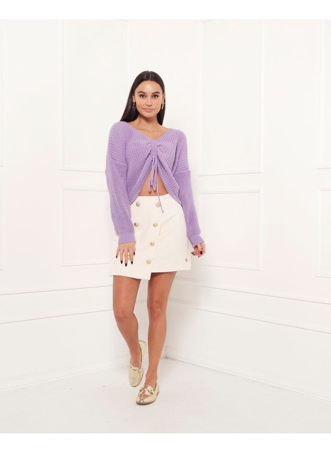 Hailey sweater - purple #1518