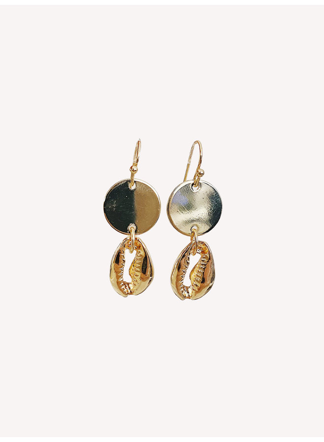 Earring - Gold #1335