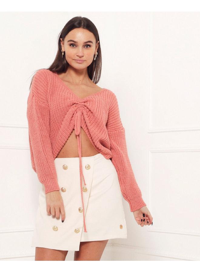 Hailey sweater - peach #1518
