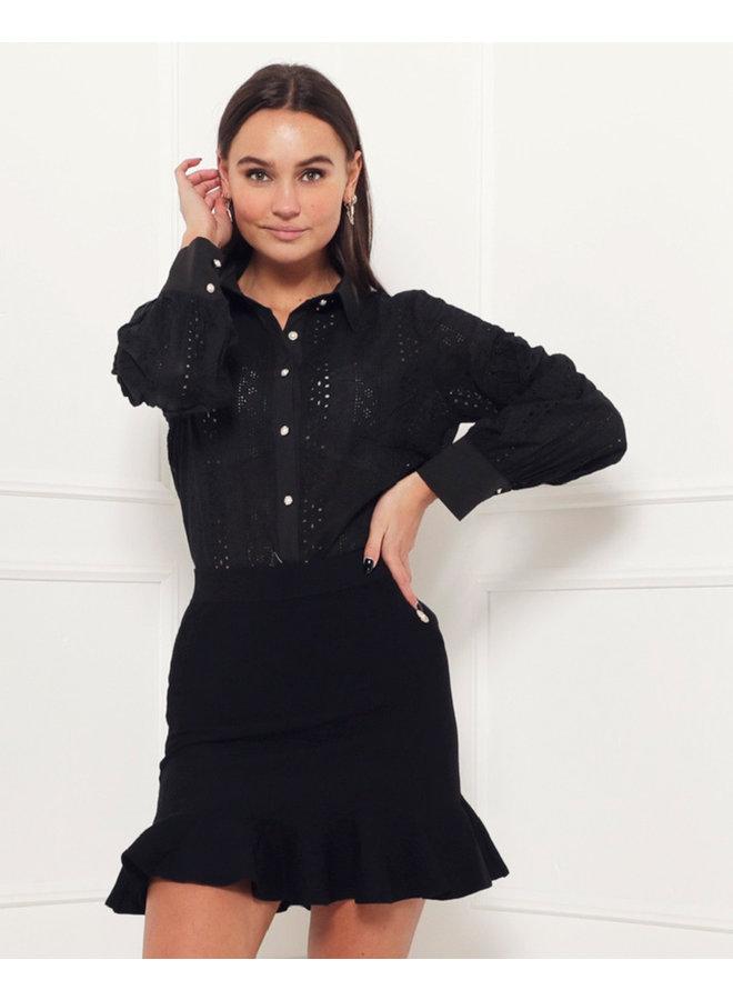 Joyce top - black #1515