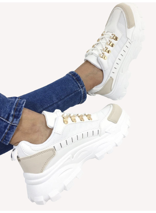 Chunky Sneakers - White #R-918